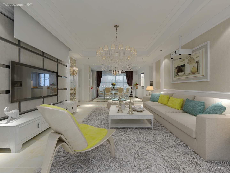 170平欧式风格套房装修效果图