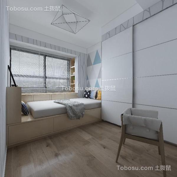 2018现代简约卧室装修设计图片 2018现代简约榻榻米装修设计图片