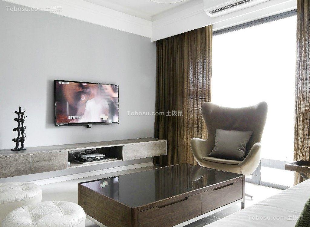 90平现代风格两居室装修效果图
