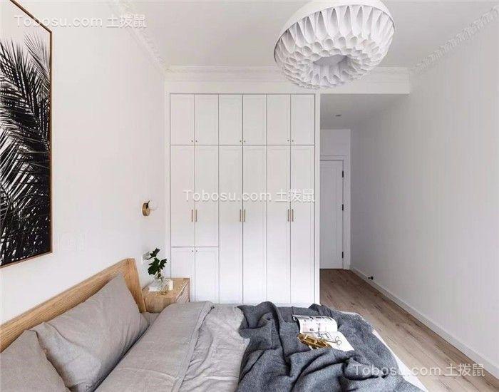 2019北欧卧室装修设计图片 2019北欧床图片