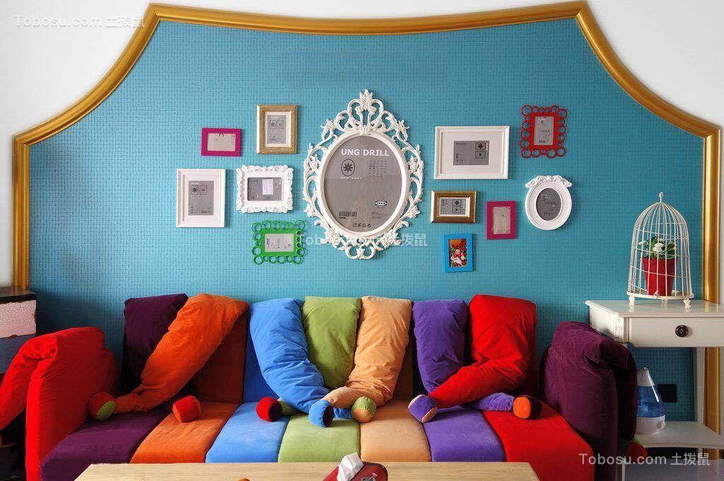 混搭客厅照片墙装修方案
