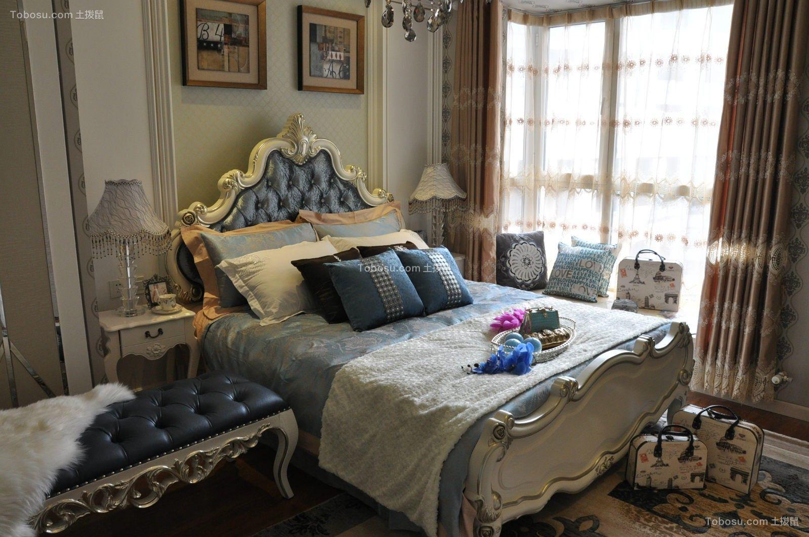2018新古典卧室装修设计图片 2018新古典床图片