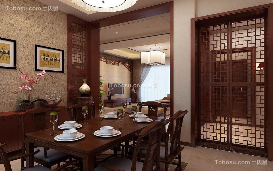 济南碧桂园230平新中式设计案例