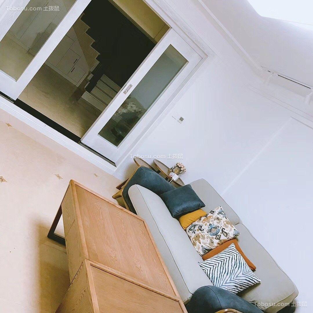 200平北欧风格三居室装修效果图