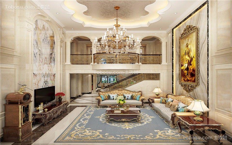 350平欧式风格别墅装修效果图