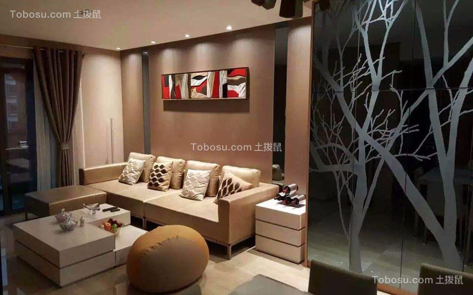 118平现代风格套房装修效果图