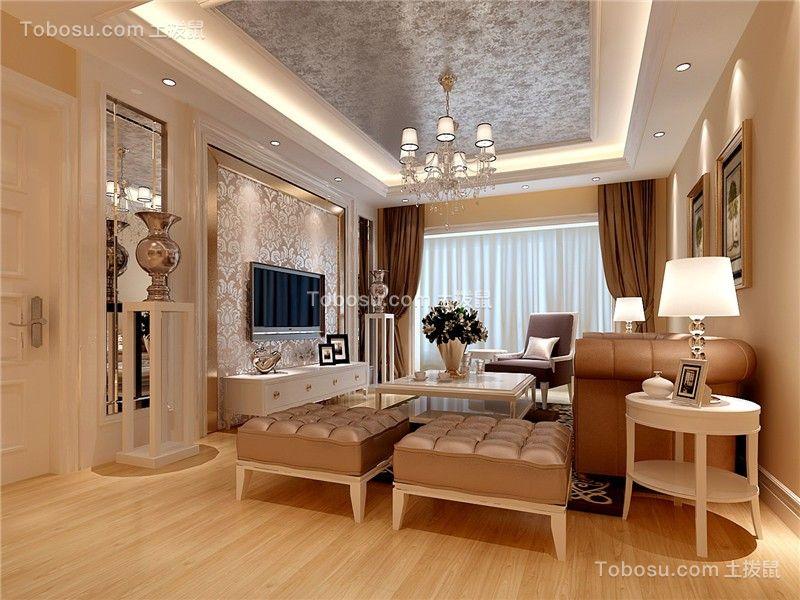 168平欧式风格四居室装修效果图
