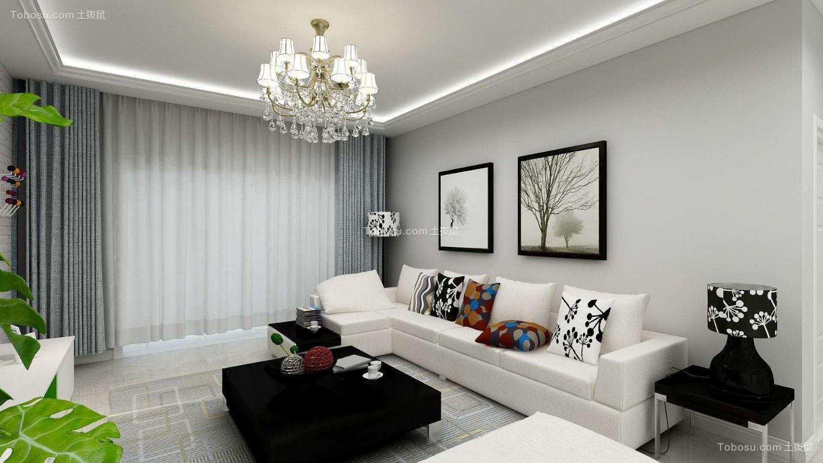 178平简约风格四居室装修效果图