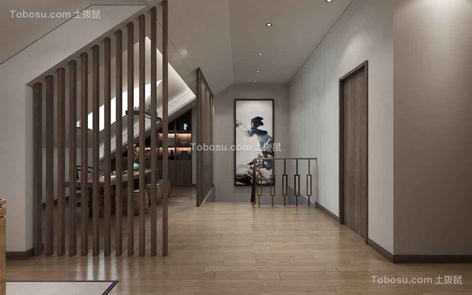 起居室隔断新中式装修设计
