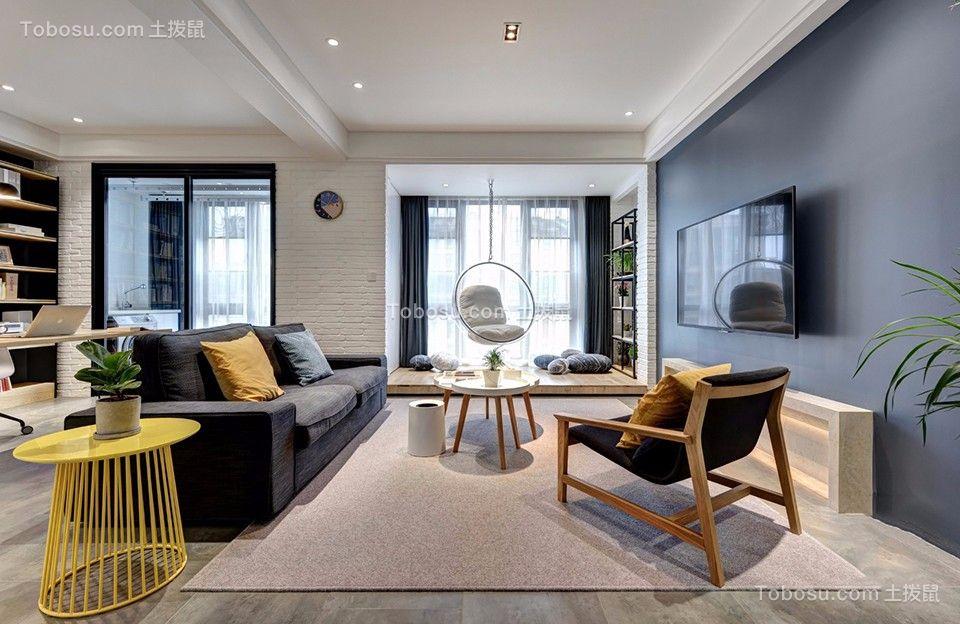 178平北欧风格四居室装修效果图