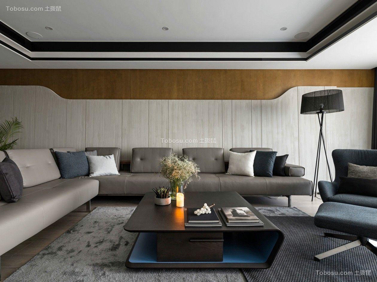115平混搭风格三居室装修效果图
