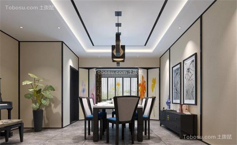 120平现代风格套房装修效果图