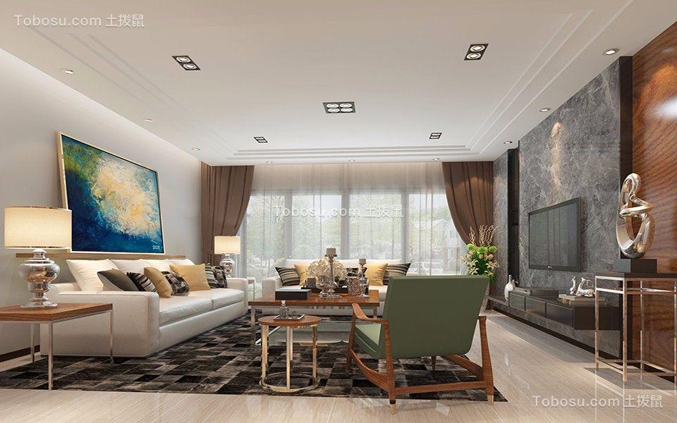 178平现代简约风格套房装修效果图