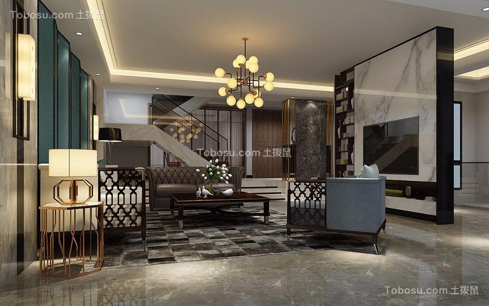 600平现代风格别墅装修效果图