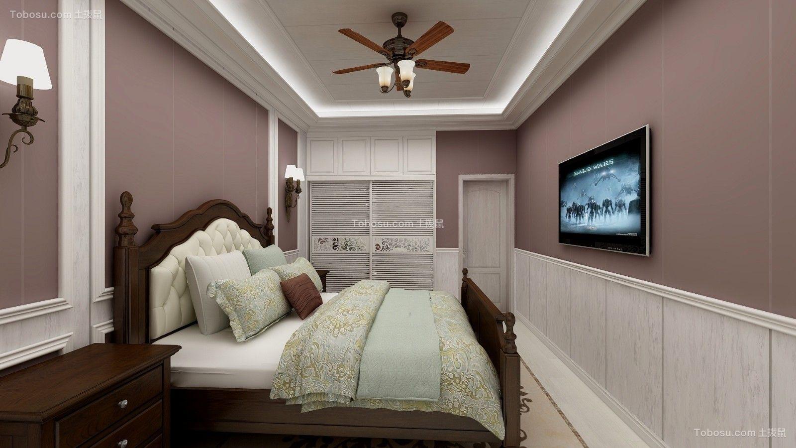 2018美式卧室装修设计图片 2018美式背景墙装饰设计