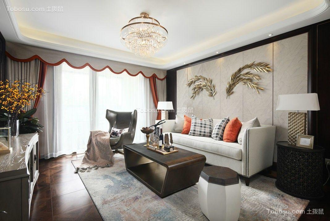 美式客厅沙发装饰图片