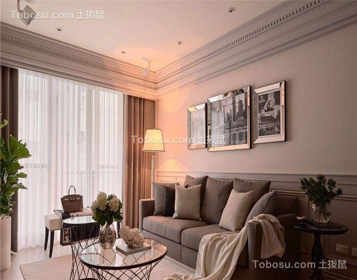 2019新古典客厅装修设计 2019新古典沙发装修设计