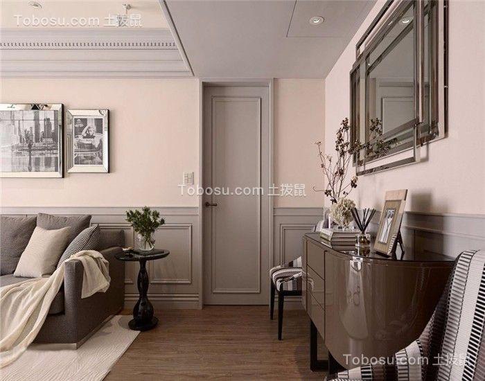 客厅地砖新古典装潢图片