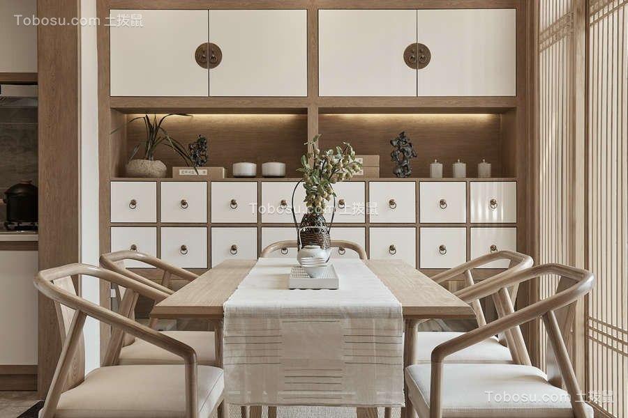 2018中式餐厅效果图 2018中式餐桌装修图片