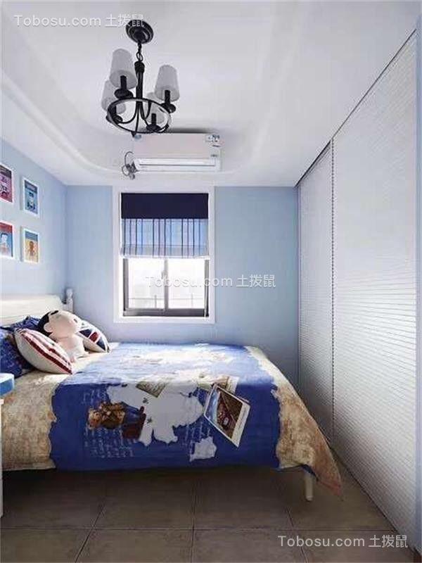 2019地中海卧室装修设计图片 2019地中海床图片