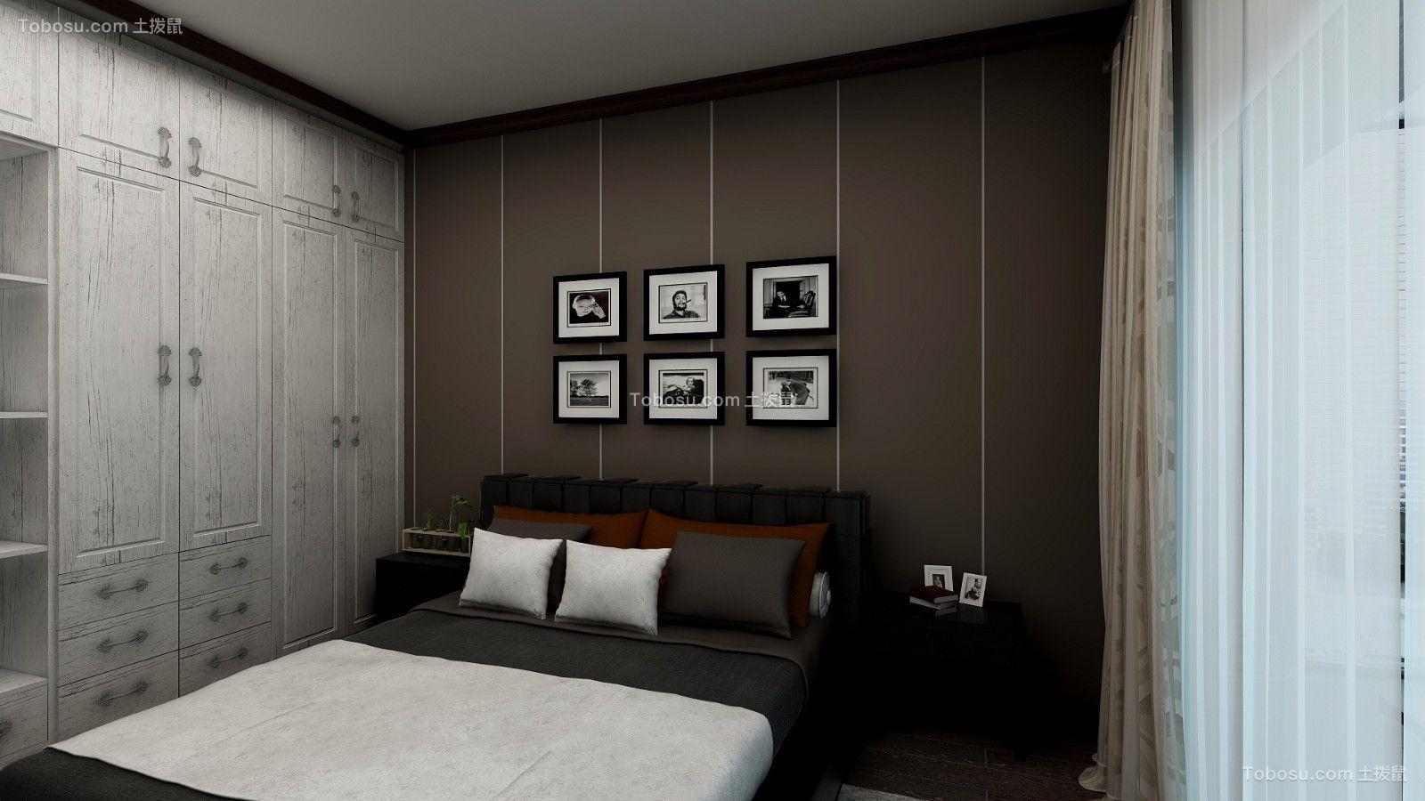 2018现代卧室装修设计图片 2018现代照片墙装修效果图大全