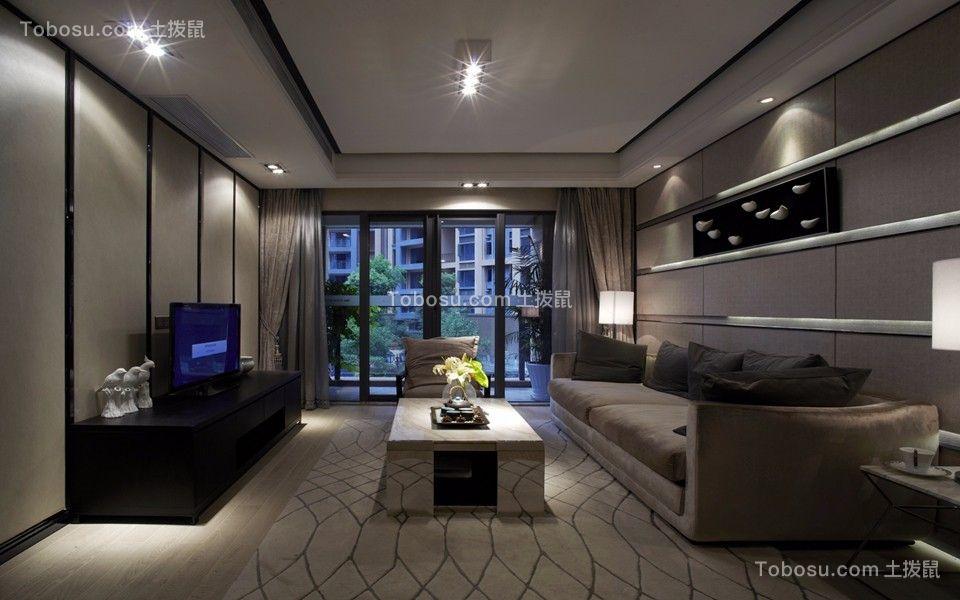 118平经典风格三居室装修效果图