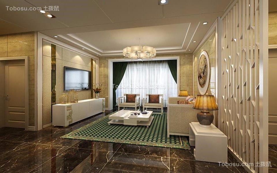 168平新中式风格套房装修效果图