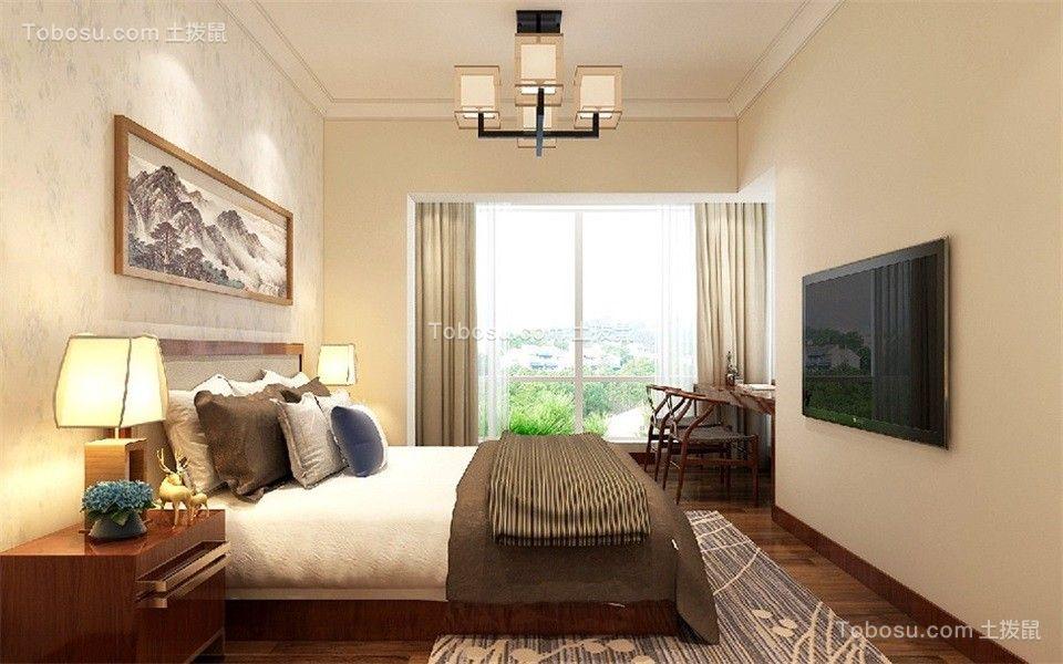 2019古典卧室装修设计图片 2019古典背景墙图片