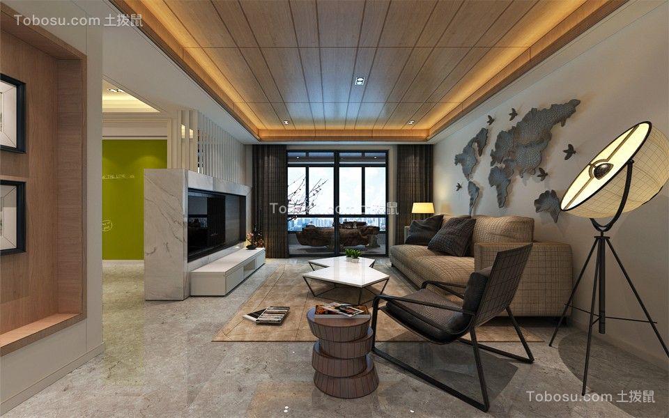 230平现代简约风格四居室装修效果图