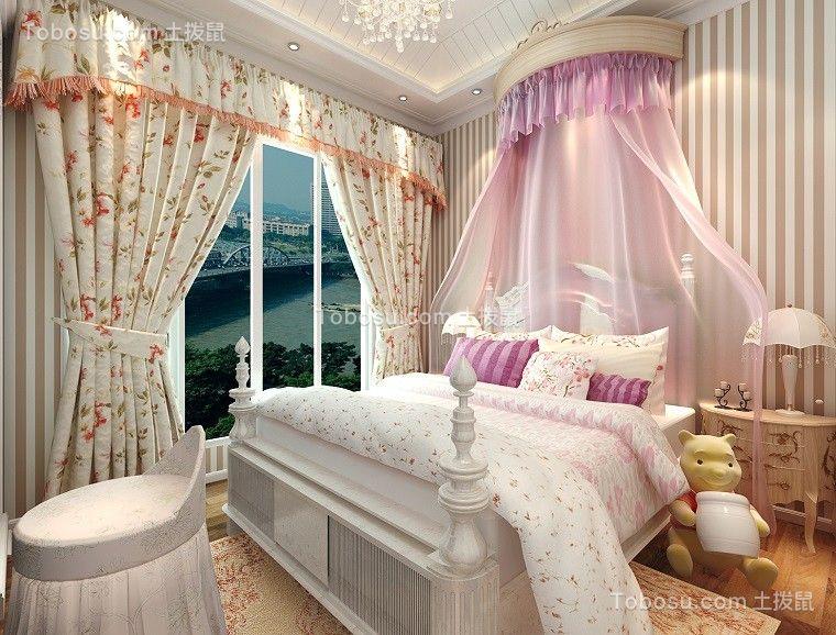 2020欧式卧室装修设计图片 2020欧式飘窗图片