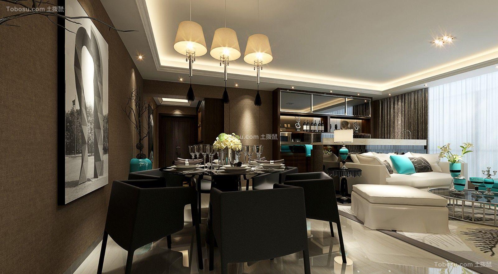 173平现代简约风格公寓装修效果图
