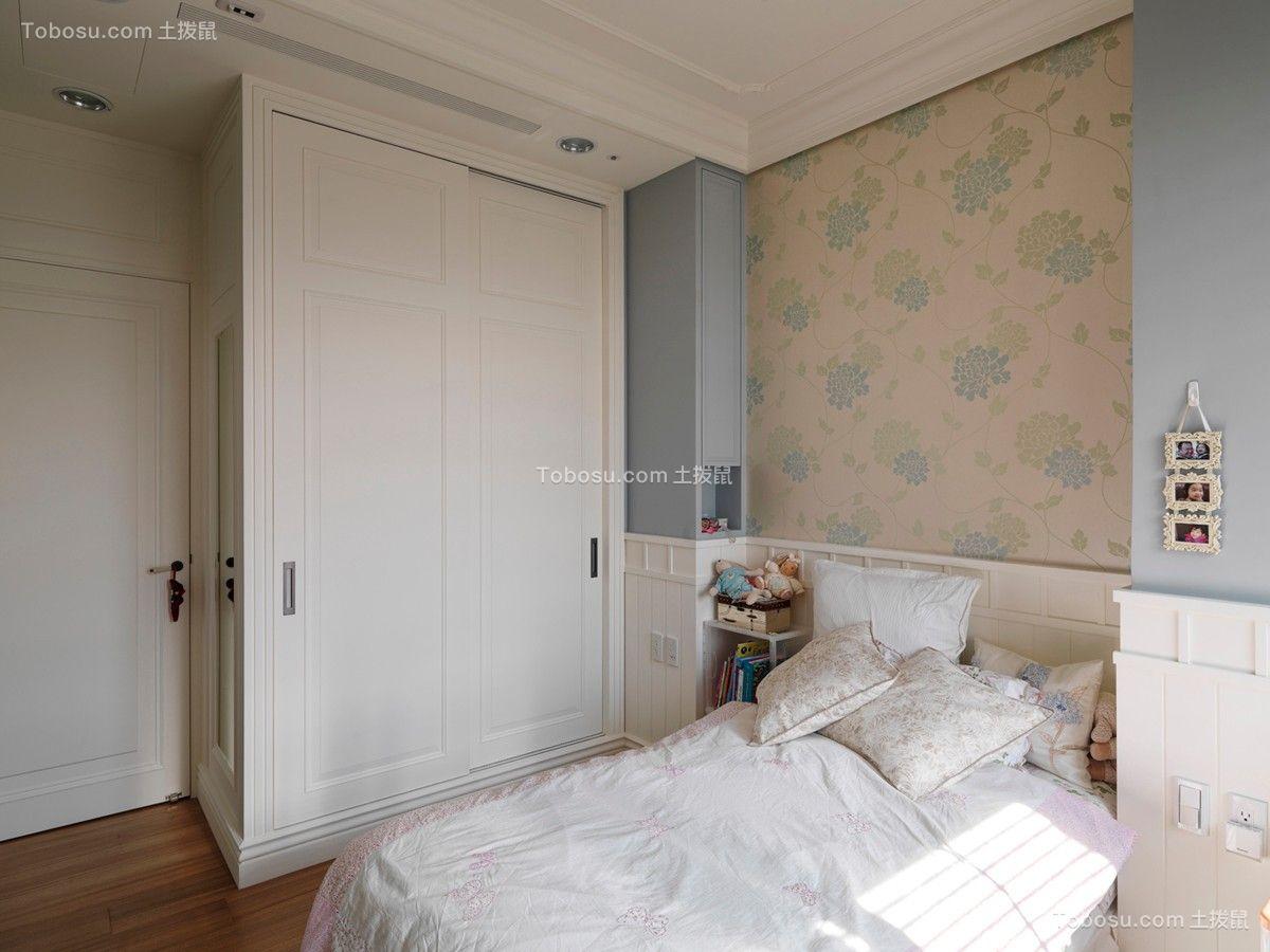 2018美式卧室装修设计图片 2018美式衣柜装修效果图片