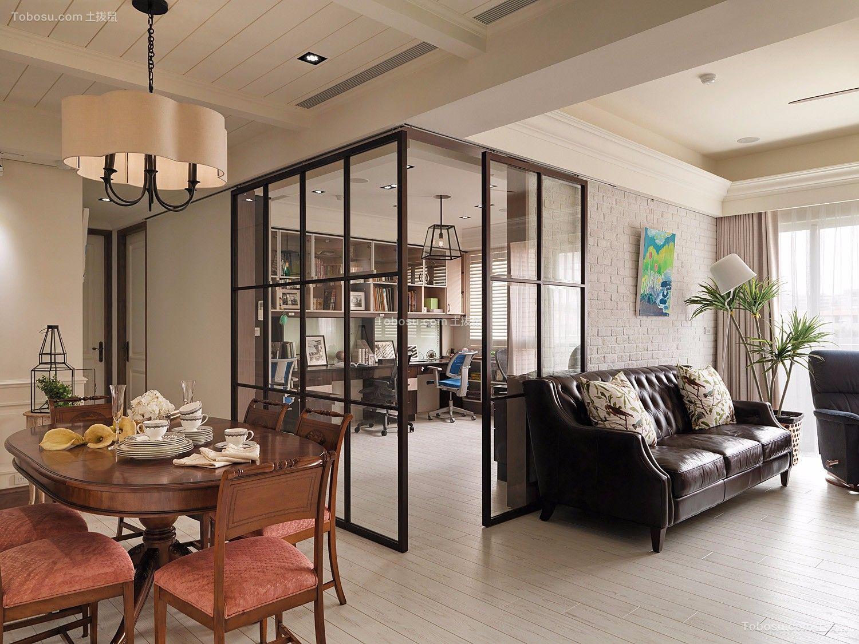 朴素温馨客厅沙发装潢设计图片