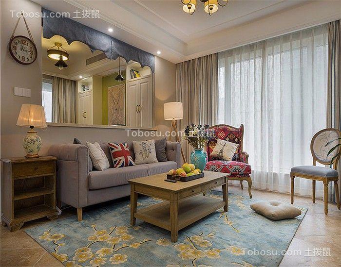 赏心悦目客厅沙发设计效果图