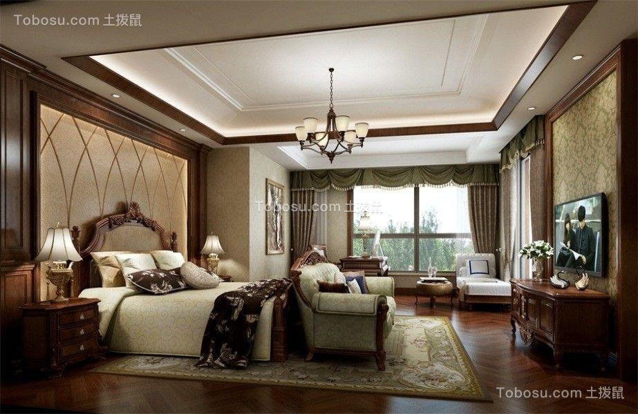 欧式风格300平米复式新房装修效果图