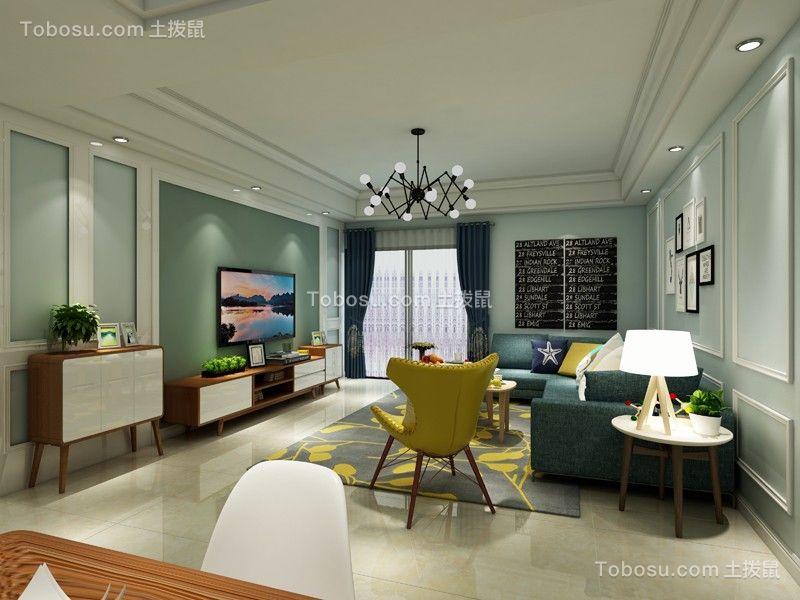 北欧风格171平米四室两厅新房装修效果图
