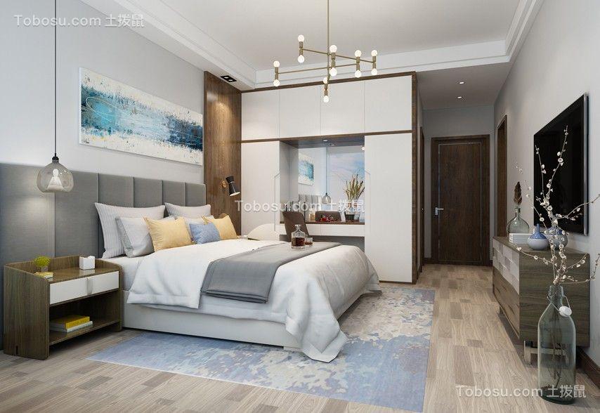 现代简约风格163平米四室两厅新房装修效果图