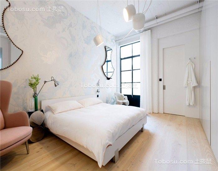 卧室 床_133平简约风格三居室装修效果图