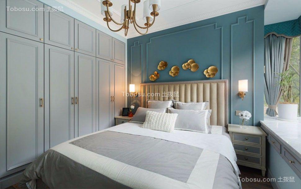 卧室米色衣柜欧式风格装潢图片