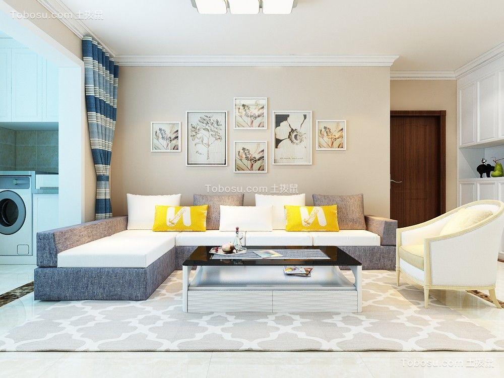135平现代风格三居室装修效果图