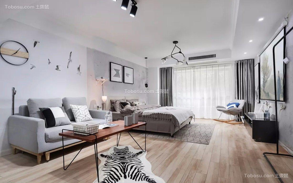 180平现代简约风格四居室装修效果图