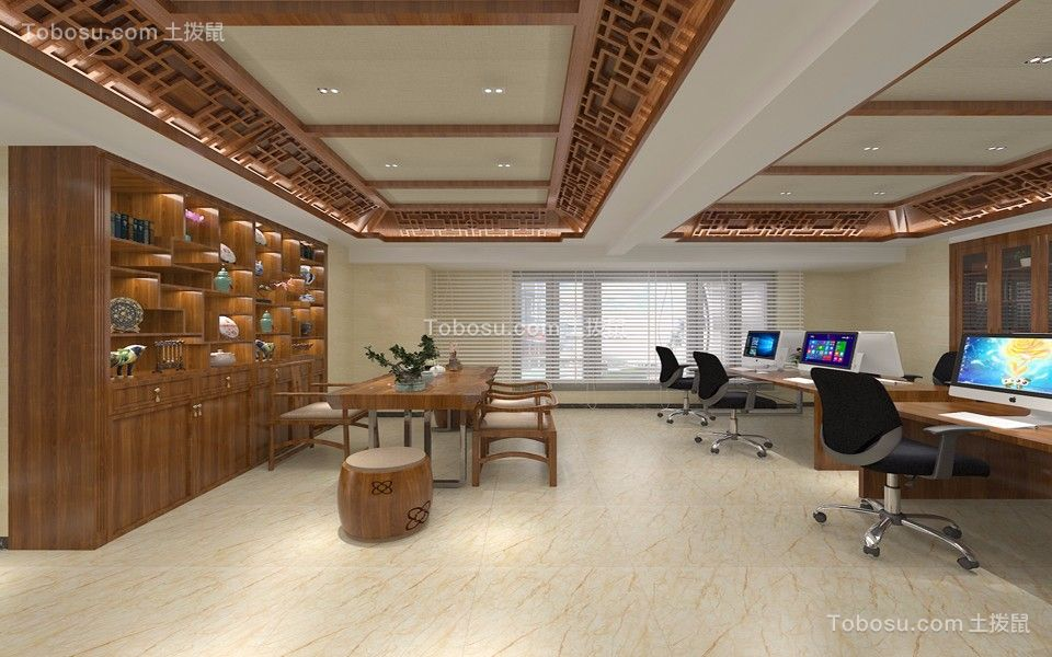 昆明海伦国际240平米风格效果图