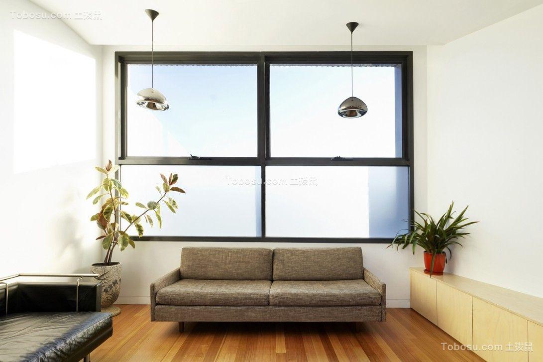130平现代简约风格公寓装修效果图