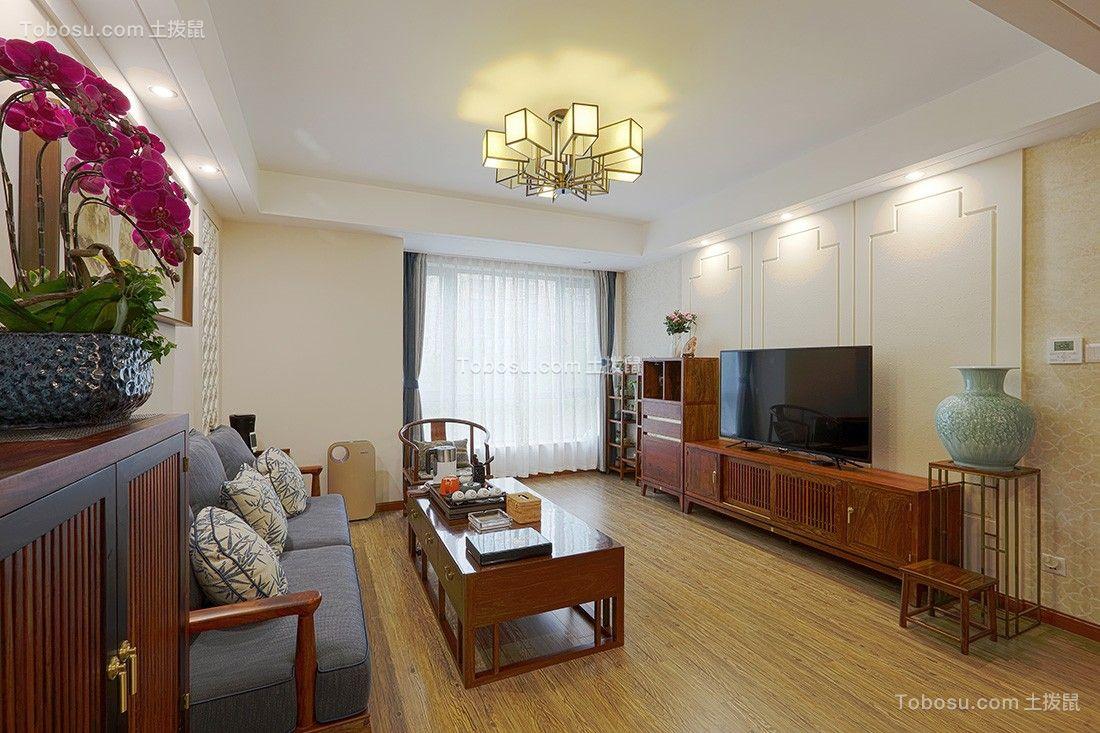 177平新中式风格套房装修效果图