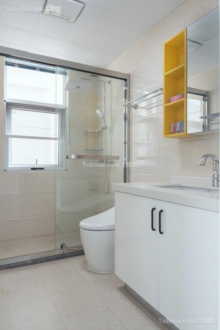 保利香槟 146平 三室两厅一厨二卫现代简约风格实景图