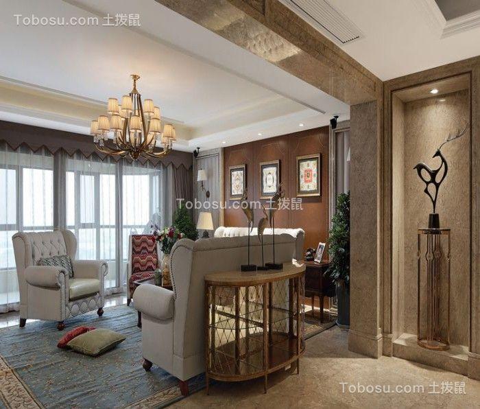 99平欧式风格两居室装修效果图