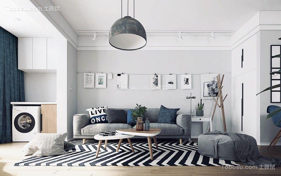 120平北欧风格四居室装修效果图