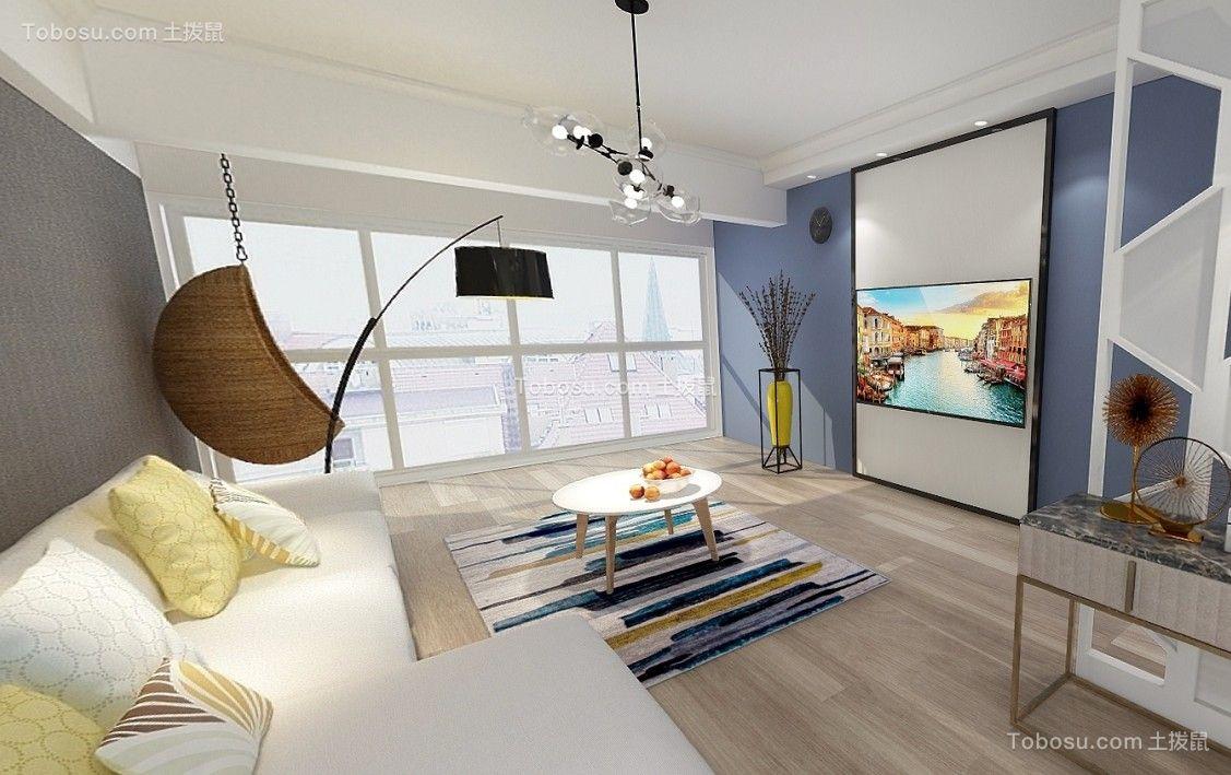 117平现代简约风格套房装修效果图
