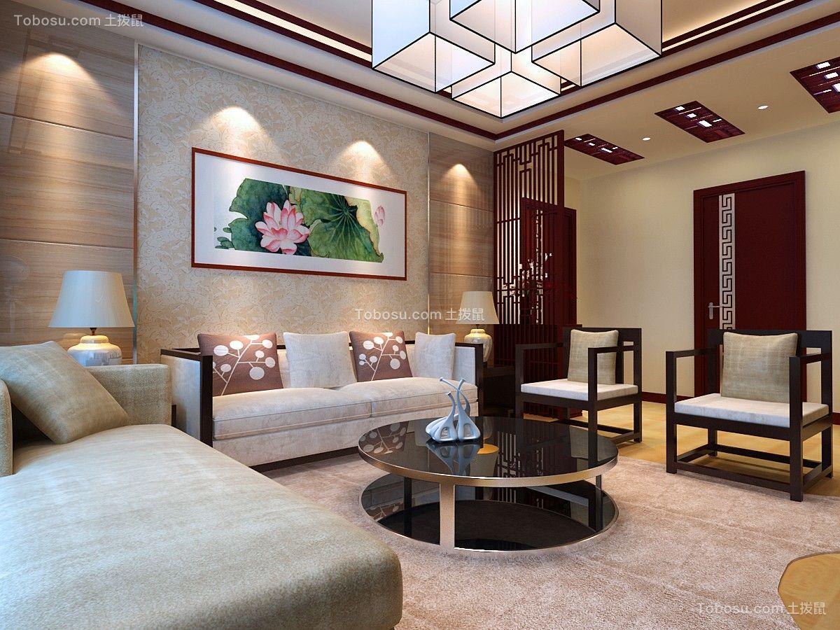 2018中式客厅装修设计 2018中式沙发装修图