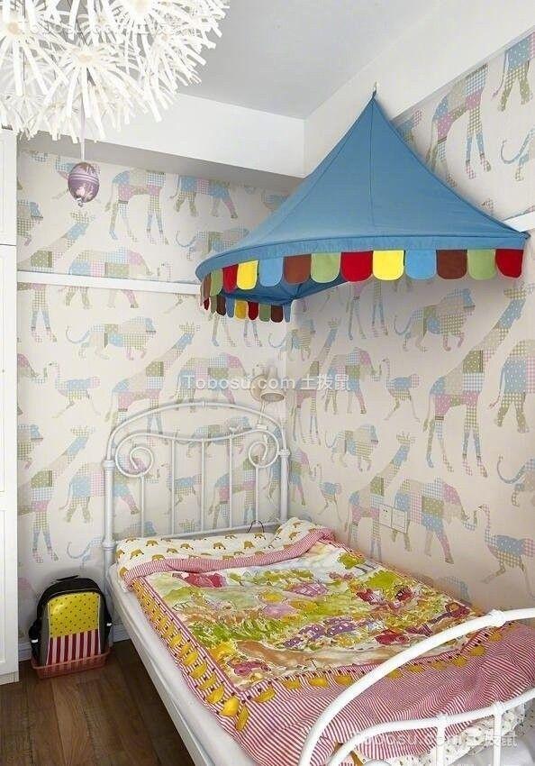 2020韩式儿童房装饰设计 2020韩式床效果图